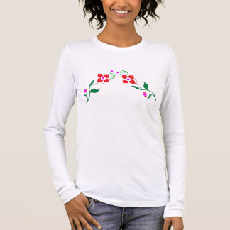 ROSA: Bella plus Größen-langes Hülsen-Shirt Langarm T-Shirt