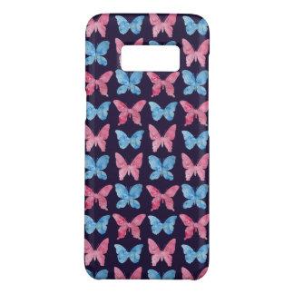 Rosa blaues Aquarell-Malerei-Muster Case-Mate Samsung Galaxy S8 Hülle