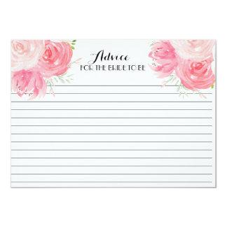 Rosa Blumen-schöne Blumenratekarten Karte