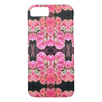 Rosa Blumenstrauß iPhone 7 Hülle