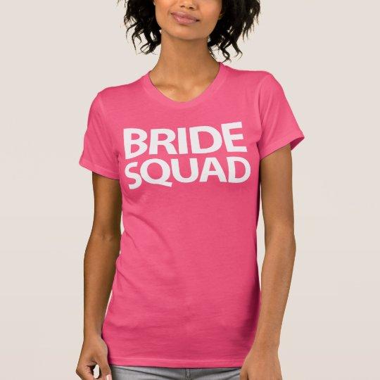 Rosa Braut-Gruppe-Shirts für T-Shirt