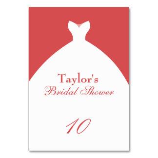 Rosa Brautparty-Hochzeits-Kleid Karte