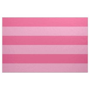 Rosa breiter Streifen-großer Umfang Stoff