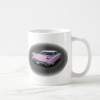 Rosa Cadillac-Blitz Kaffeetasse