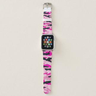 Rosa Camouflage Apple Watch Armband