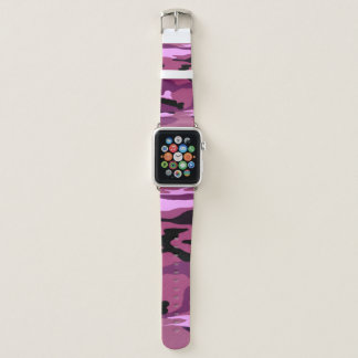 Rosa Camouflage Apple Watch Armband