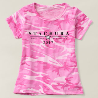 Rosa Camouflage T-shirt