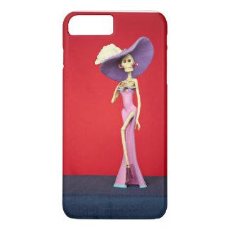 Rosa Catrina Telefon-Kasten iPhone 7 Plus Hülle