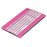 Rosa Computertastatur