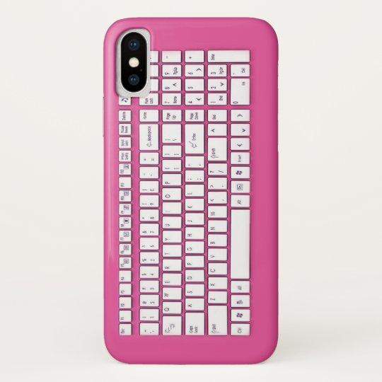 Rosa Computertastatur Blackberry Bold Cover