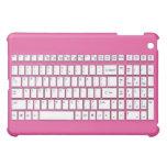 Rosa Computertastatur iPad Mini Schale
