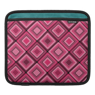 Rosa Diamant-Muster iPad Hülse iPad Sleeve
