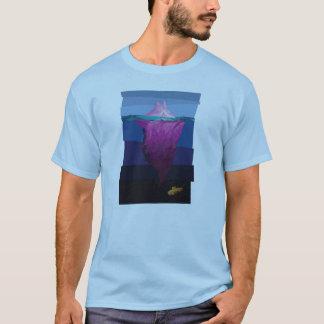 Rosa Eisberg eingefroren in der Zeit T-Shirt