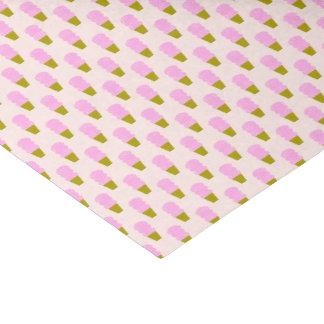 Rosa Eistüten Seidenpapier