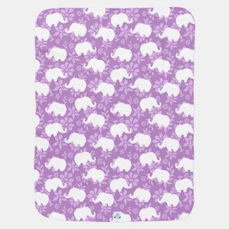 Rosa Elefant-Baby-Decke Babydecke