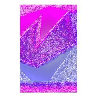 Rosa Experiment Druckpapier