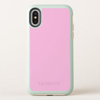 Rosa Farbe OtterBox Symmetry iPhone X Hülle