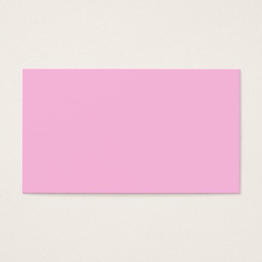 Rosa Farbe P06 Visitenkarte