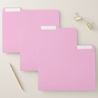 Rosa Farbe Papiermappe
