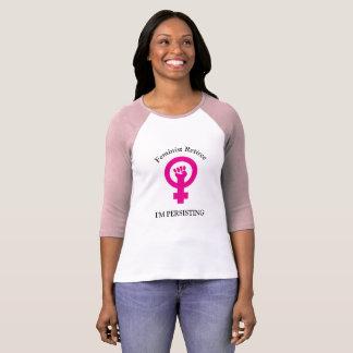 Rosa feministischer Rentner | bestehe ich fort T-Shirt