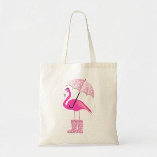 Rosa Flamingo-Budget-Tasche Tragetasche