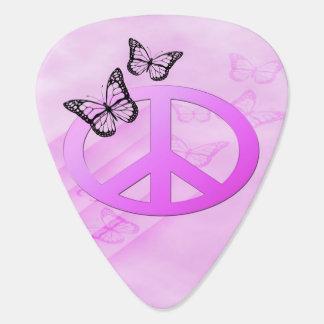 Rosa Frieden Gitarren-Pick