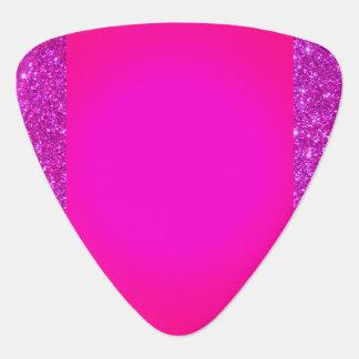 Rosa funkelnd heißes Rosa-Rock'n'Roll-Plektrum Plektrum