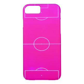 Rosa Fußballplatz iPhone 7 Fall iPhone 7 Hülle