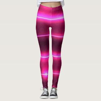 rosa Gamaschen Lasers Leggings