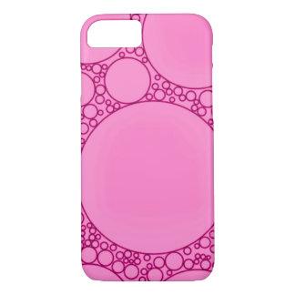 Rosa Geräusche abstrakt iPhone 7 Hülle