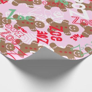 Rosa Geschenkpapier