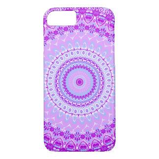 Rosa Gewürz-Mandala-Kaleidoskop iPhone 7 Fall iPhone 8/7 Hülle