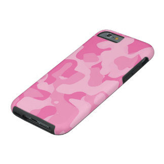 Rosa Girly Camoflauge iPhone 6 Fall Tough iPhone 6 Hülle