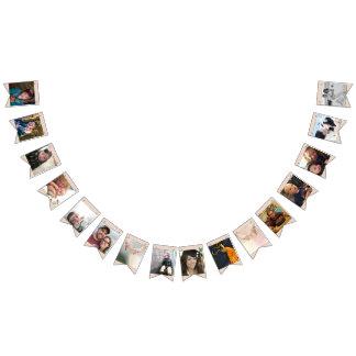 Rosa GoldFoto-Abschluss oder Jahrestags-Party Wimpelketten