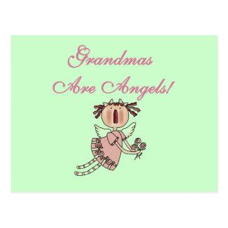 Rosa Großmütter sind Engels-T-Shirts und Geschenke Postkarte