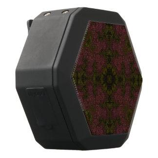 Rosa grünes abstraktes schwarze bluetooth lautsprecher