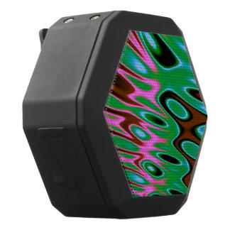 Rosa grünes Brown abstrakt Schwarze Bluetooth Lautsprecher