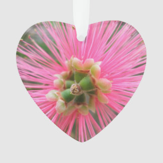 Rosa Gummi-Baum-Blume Ornament