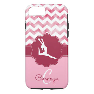 Rosa Gymnastik-Handy-Fall iPhone 8/7 Hülle