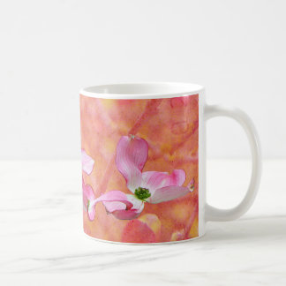 Rosa Hartriegel-Blüten-Entwurfs-Tasse Kaffeetasse
