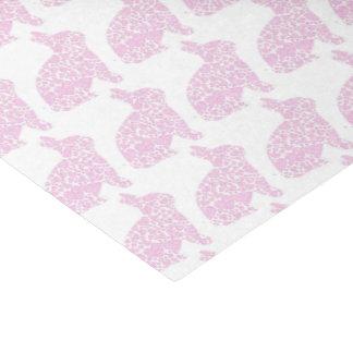 Rosa Häschen-Geschenk-Verpackungs-Seidenpapier Seidenpapier