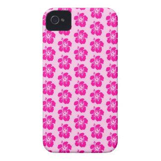 Rosa hawaiischer iPhone 4 Telefon-Kasten iPhone 4 Case-Mate Hüllen