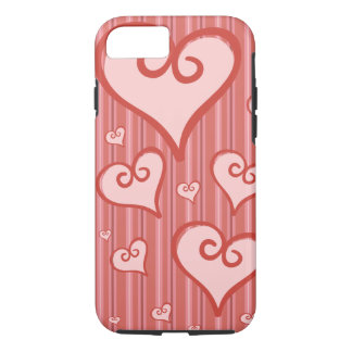 Rosa Herz iPhone 6Case starker iphone 6 Fall iPhone 8/7 Hülle