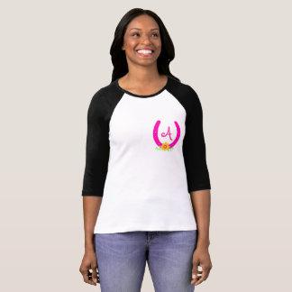 Rosa Hufeisen T-Shirt