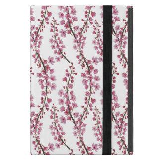 Rosa Kirschblüte-Aquarellmuster Etui Fürs iPad Mini