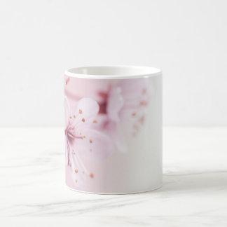 Rosa Kirschblüte-Blume Kaffeetasse