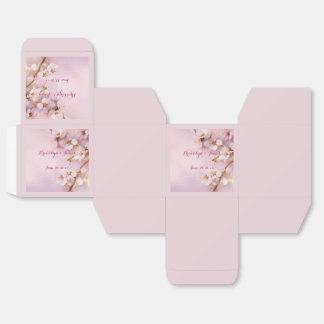 Rosa Kirschblüten-Gastgeschenk Hochzeits-Kästen Geschenkschachteln