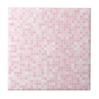 Rosa kleine oder große Keramik-Foto-Fliese