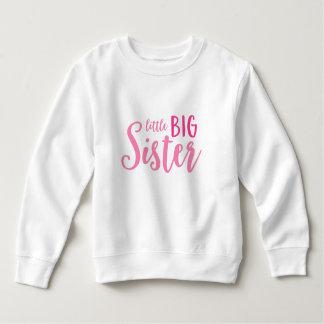 Rosa kleines große sweatshirt