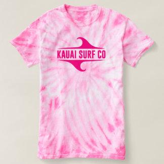 Rosa Krawatten-T - Shirt Kauai-Brandungs-Co.